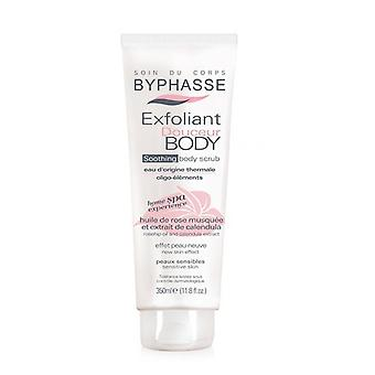 Byphasse Toning Body Scrub 350 Ml Sensitive Skin