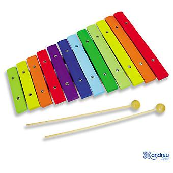 Andreu Toys Xylophone Colors (Toys , Educative And Creative , Music , Instruments)