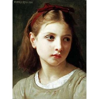 Une Petite Fille Poster Print by  William-Adolphe Bouguereau