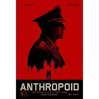 Anthropoid filmposter (11 x 17)
