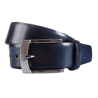 BERND GÖTZ belts men's belts leather belt leather blue 1775