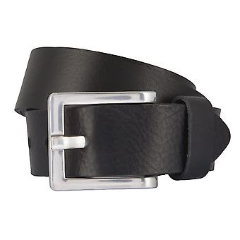 BERND GÖTZ belts men's belts leather belt leather black 2346