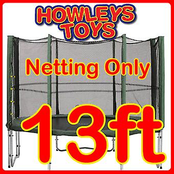 13ft Replacement Netting For Trampoline Enclosure