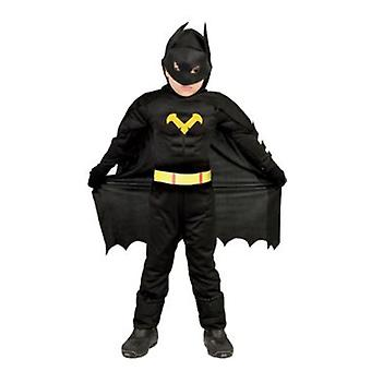 Import Hero Costume Black Children 3-4 years (Costumes)