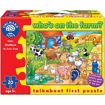 Orchard Toys Who's on the Farm