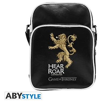 Abysse Game Of Thrones Messenger Bag Lannister Vinyl Small Size Hook