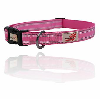 Længe poter komfort polstret krave Pink ekstra små