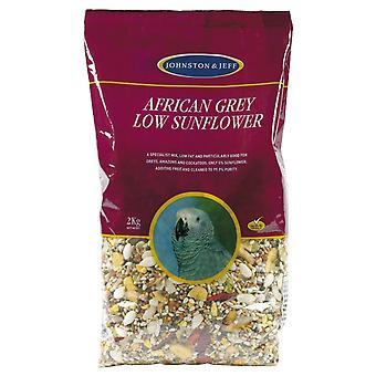 Jensen & Jørgensen afrikanske grå lav solsikke 2kg (pakke med 6)