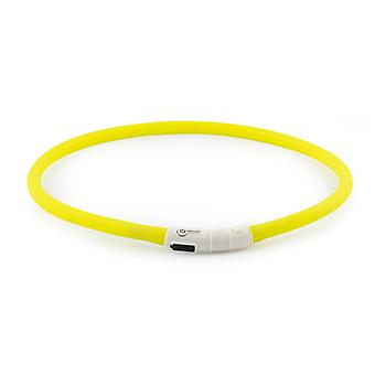 Usb Rechargeable Night Time Safety Halo Yellow 70cm