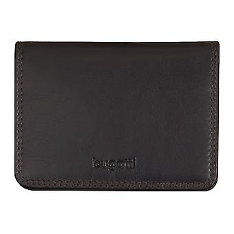 Bugatti mens credit card holder card holder leather case Brown 5309 Simbosi