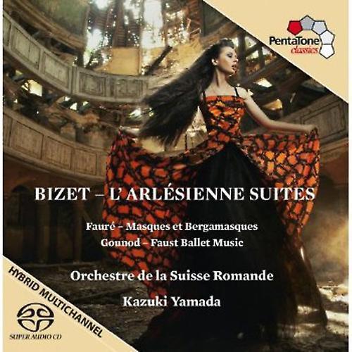 Bizet/Gounod/Faure - Bizet: L'Arl Sienne Suites [SACD] USA import