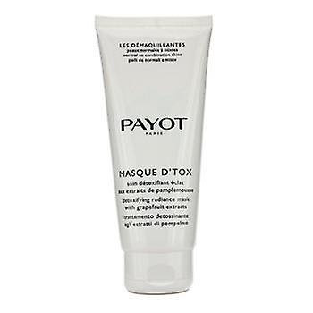 Payot Les Demaquillantes Masque DTox Detoxifying Radiance Mask - For Normal To Combination Skins (Salon Size) - 200ml/6.7oz