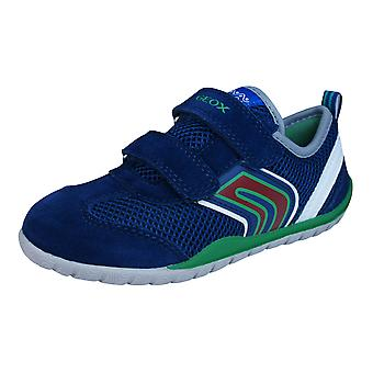 Geox J Trifon B Boys Trainers / Shoes - Blue