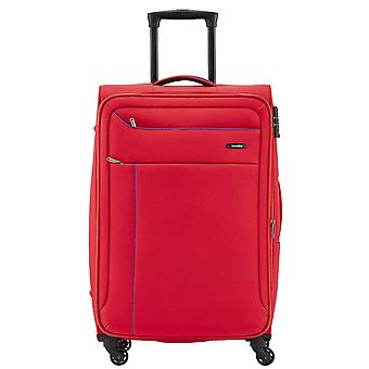 Travelite Solaris 4 wheels soft luggage trolley suitcase M 67 cm, 3.2 kg