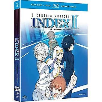 Certain Magical Index II: Season 2 - Part 2 [BLU-RAY] USA import