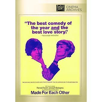 Gjorda för varandra [DVD] USA import