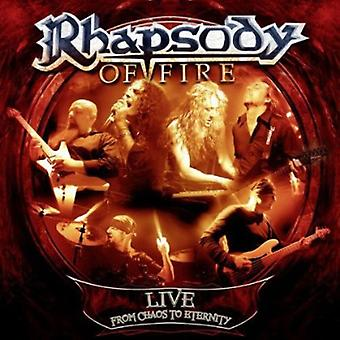 Rhapsody of Fire - Live-From Chaos to Eternity [CD] USA import