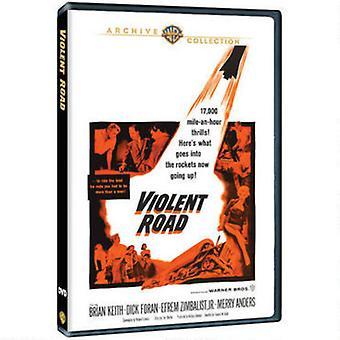 Violent Road [DVD] USA import