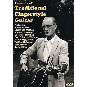 Legender af traditionelle Fingerstyle Guitar [DVD] USA import