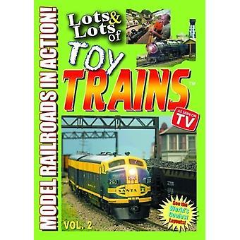 Masser & masser af legetøj tog Vol. 2 [DVD] USA import