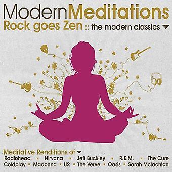 Modern Meditations - Rock Goes Zen: The Modern Classics [CD] USA import