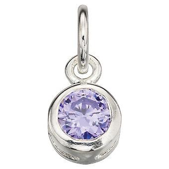 925 Silver Fashionable Zirconia Necklace