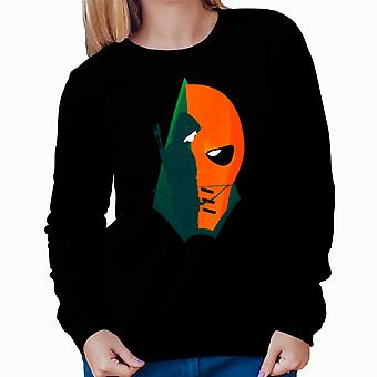 Arrow Deathstroke Montage Women's Sweatshirt