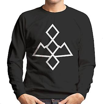 Twin Peaks White Lodge zwart Lodge mannen Sweatshirt