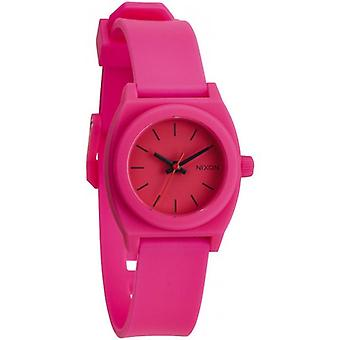 Nixon The Small Time Teller P Watch - Hot Pink
