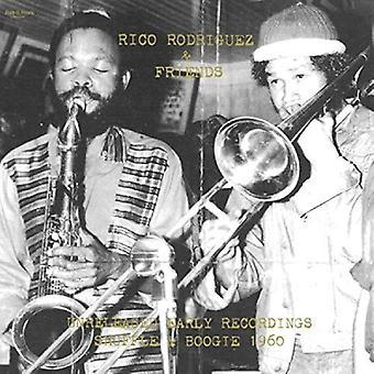 Rodriguez, Rico / venner - uudgivet tidlige indspilninger: Shuffle & Boogie 1960 [Vinyl] USA importerer