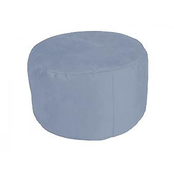 Pouf Alka light blue size 34 x 47 x 47 with filling