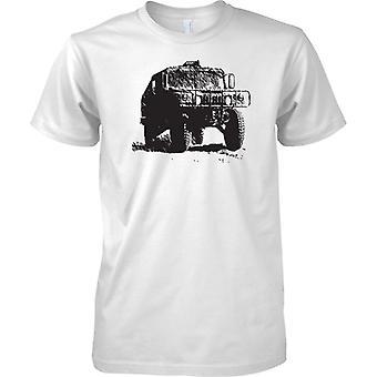 US Army Humvee - Armoured Military Vehicle - Mens T Shirt