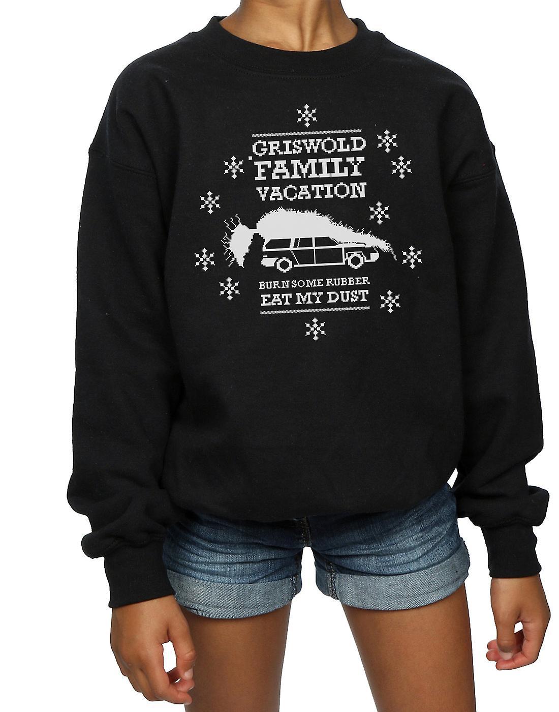 National Lampoon's Christmas Vacation Girls Eat My Dust Sweatshirt