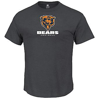 Majestic OUR TEAM shirt - Chicago Bears charcoal