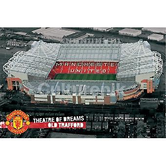 Manchester United Teatr nowy Sos plakat Poster Print