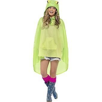 Лягушка костюм партии пончо лягушка пончо плащи костюм фестиваль