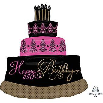 Anagram Supershape Fabulous Celebration Cake Foil Balloon