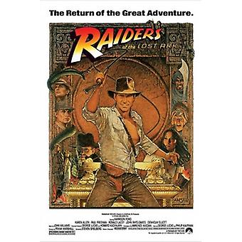 Raiders of the Lost Ark - Indiana Jones Poster Print (24 x 36)