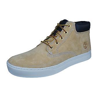 Timberland Dauset Chukka Mens Leather Boots - Tan
