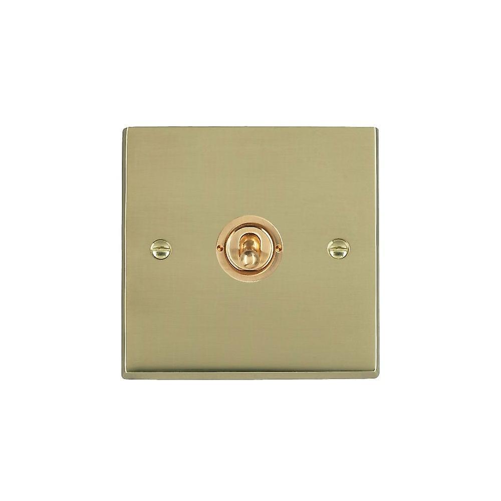 Hamilton Litestat Cheriton Victorian Polished Brass 1g 20AX Inter Tog PB