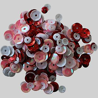 Clear Scraps Sequin Multi Pack 350 To 400 Pieces-Lovely CSSQ-LOVLY