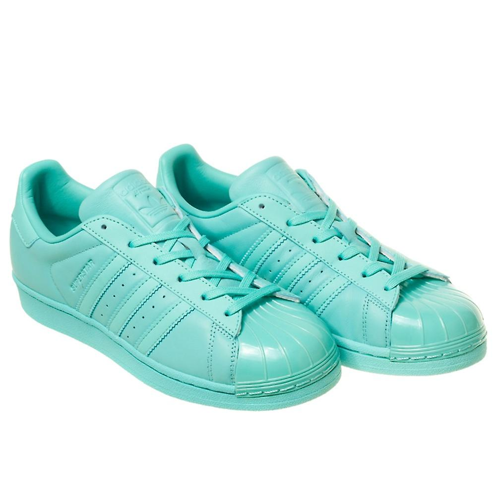 premium selection 2dcd6 84e83 Adidas Superstar Glossy Toe BB0529 universal all year women shoes