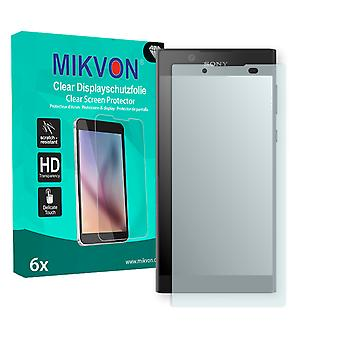 Sony Xperia L1 Screen Protector - Mikvon Clear (Retail Package with accessories)
