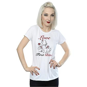 Disney Princess Women's Snow White Love At First Bite T-Shirt