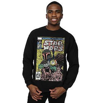 Star Wars Men's Boba Fett Comic Sweatshirt
