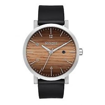 Nixon The Rollo Wood / Silver (A9452457)