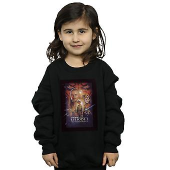 Star Wars Girls Episode I Movie Poster Sweatshirt