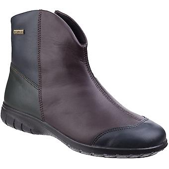 Cotswold Womens/Ladies Glympton Slip On Waterproof Leather Ankle Boots