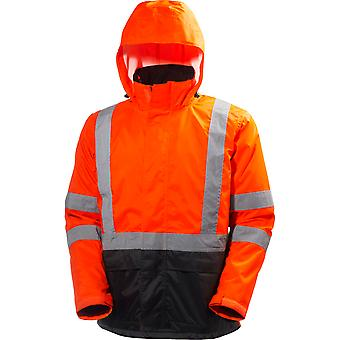 Helly Hansen Mens Alta Waterproof High-Vis Workwear Shell Jacket