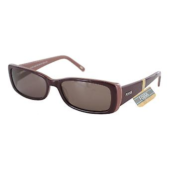 Fossil sunglasses clear Lake maroon brown PS7192601